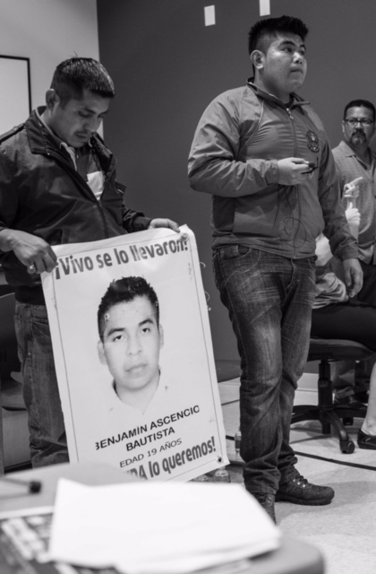 picture of Ayotzinapa teacher